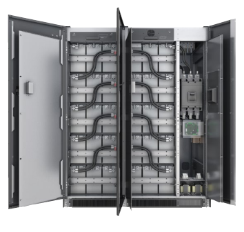 Meet runtime demands with flexible battery cabinets VRLA shown.