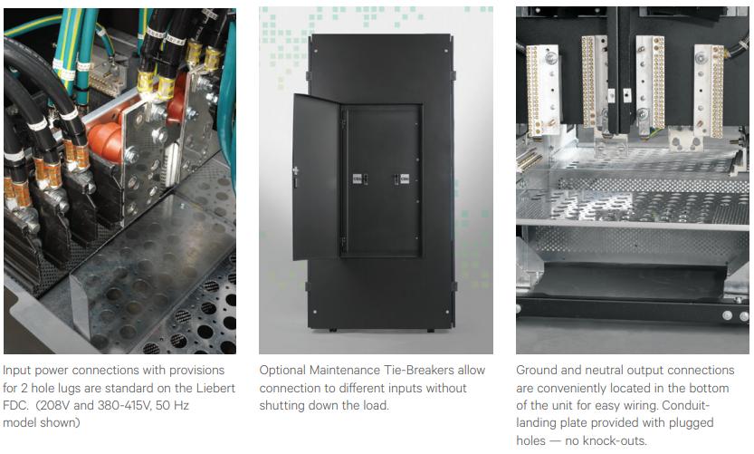 Vertiv Liebert FDC Power Distribution Cabinet | SmartPowerWorks com
