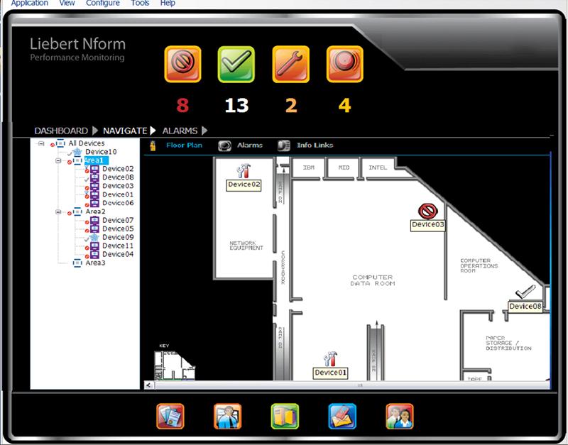 Vertiv Liebert Nform, Centralized Monitoring Software